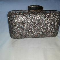 Lulu Townsend Glitter Clutch Purple Blue Gold Dress Up Casual  Photo