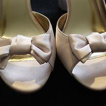 Lulu Townsend High Heel Size 11 Satin Pink Shoes Wedding Photo