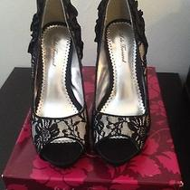 Lulu Townsend Lace Pumps Photo