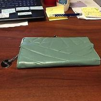 Lulu Wallet Green and Gold Photo