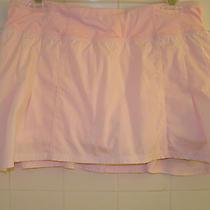 Lululemon 8 Run in the Sun Skirt Blush Quartz Pale Pink Euc Rare Photo