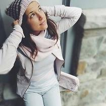 Lululemon Blissed Outtoque Beanie Hatin Heather Blush Stripenwt Sold Out Photo