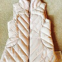 Lululemon Blush Down Town Down Vest Size 6 Rose Gold Zipper New With Tags Photo