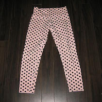 Lululemon Diversity Wunder Under in High Noon Dot Blush Quartz/black Size 4 Photo