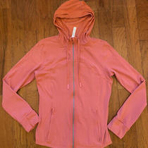 Lululemon Hooded Define Jacket - Nulu - Blush Coral - Size 12 - Euc Barely Worn Photo