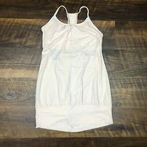 Lululemon No Limit Tank Wee Stripe White Blush Quartz Size 6 Pink Top Built Bra Photo