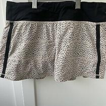 Lululemon Pace Rival Skirt Size 6 Euc Blush W/ Black Dot Photo