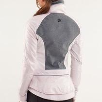 Lululemon Pedal Power Fleece Jacket 4 Neutral Blush Photo
