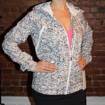 Lululemon Rise & Shine Jacket Size 10 Not So Petite Fleur Silver Spoon Coat Nwt Photo