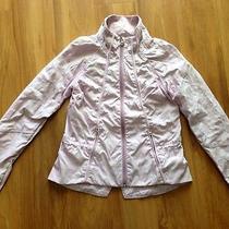 Lululemon Run Travel to Track Jacket Lilac Blush Quartz Size 4 Photo