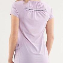 Lululemon Run Wild Reflective Ss Tech Shirt in Blush Quartz 8 Photo