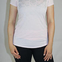 Lululemon Run Wild Ss Tech Short Sleeve Size 10 Blush Quartz Nwt Pink Reflective Photo