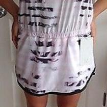 Lululemon Size 10 Sweaty or Not Runsie Sunset Stripe Blush Quartz Nwt Run Skort Photo