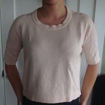 Lululemon Size 4 Bhakti Reality Short Sleeve Sweater- Blush Pink Sold Out Photo