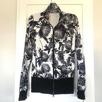 Lululemon Size 6 Forme Ii Jacket Brisk Bloom Black White Floral Define Photo