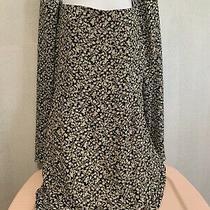 Lulus Long Sleeve Floral Beige Mini Dress Xl Photo