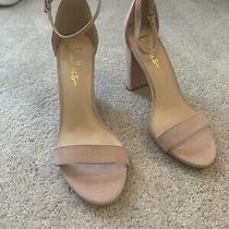 Lulus Taylor Blush Ankle Strap Heels Sandals Womens Shoes Size 8.5 Photo