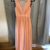 Lulus Womens Blush Pink Evening Dress Size Small Maxi Full Length Photo