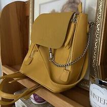 Lulus Yellow Backpack Purse Photo