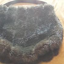 Luxurious Fur Hobo Bag Photo