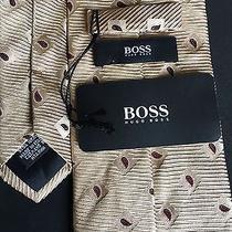 Luxurious Hugo Boss Silk Tie Made in Italy Photo