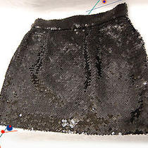 Luxurious Moschino Couture (Italy) Black Sequin Skirt- New - glamorous&superb   Photo