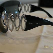 Luxury Bvlgari 6017 B Sunglasses With Swarovski Crystals  Photo