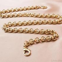 Luxury Gold Metal Chain for Bags Versace Original  Two Locks 55 Cm  Photo