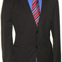 Luxury Mens Balmain Pinstripe Suit 44s W38 L30 Photo