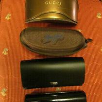 Luxury Sunglasses Lot Gucci Bebe Hugo Boss & Maui Jim. Hard & Soft Cases Photo