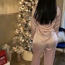 Lv Satin Pajamas Glam Pink Blush Photo