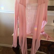 M. A. C. by Magaschoni Pink Sweater Rap Size Xl  Photo