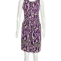 M Missoni Dress Size It42 Us 6 Purple Black Beige Dress Photo