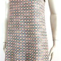 M Missoni Italy Multi-Color Sparkle Sweater Knit Dress Us 8/10 Photo