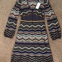 M Missoni Knitted Dress Long Sleeve Size 42 (Uk 10) Rrp 870 Photo