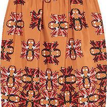 M Missoni Printed Cotton and Silk-Blend Skirt Sz It40  Photo