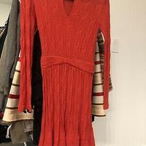 M Missoni Red Dress Size 40 Xs Small Photo