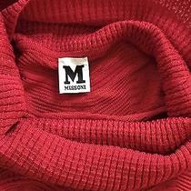 M Missoni Red Top Unique and Very Rare Size 2-6 Photo