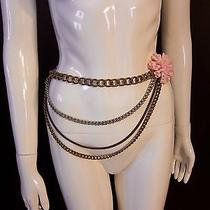 M Missoni Statement Long Necklace/belt W/box Excellent 18 to 32 Long Photo
