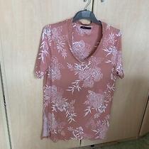 m&s Blush Pink Longer Length Top Excellent Condition Size 14 Photo