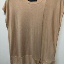 m&s Collection Ladies Uk14 Blush Pink Sleeveless Tank Top Vest Jumper Tie Detail Photo