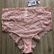 m&s Lingerie High Rise Brazilian Uk16 Eu44 Bnwt Rrp8 Blush Pink Photo