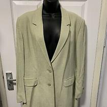 m&s Soft Green Blazer Size 18 Jacket Excellent Condition Photo