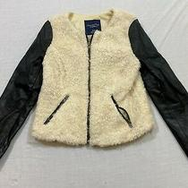 M106 American Eagle Outfitters Full Zip Jacket Blazer Women's Sweater M Photo