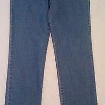 M5 Gloria Vanderbilt Sz 10 Long Womens Skinny Denim Blue Jeans (Tape30 X 33) Photo