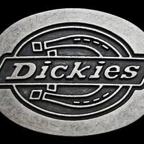 Ma21139 Really Nice Dickies Brand Clothing Oval Belt Buckle Photo