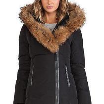 Mackage Adali F4 Xs Black Fur Collar Coat Photo