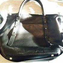 Mackage Black Leather Tote Photo