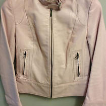 Mackage Pink Leather Jacket Xsmall Photo