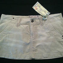 Macy's American Rag Cie Corduroy Summer Mini Skirt Size 9 Super Cute New Nwt Photo